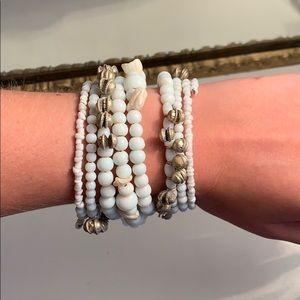 Boutique White Bracelet
